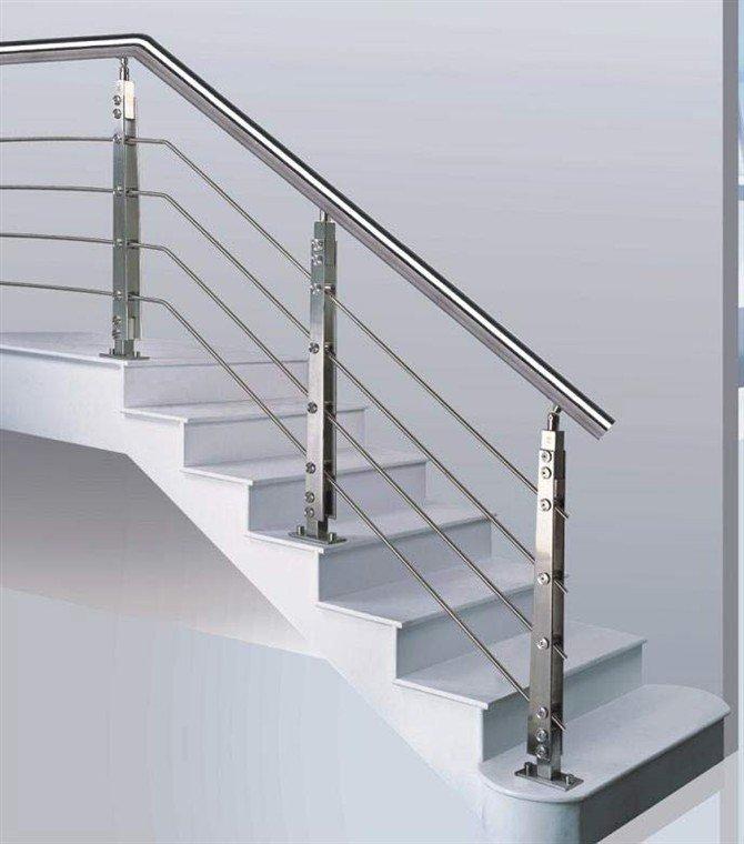 escaleras y pasamanos magosa with pasamanos de metal para escaleras