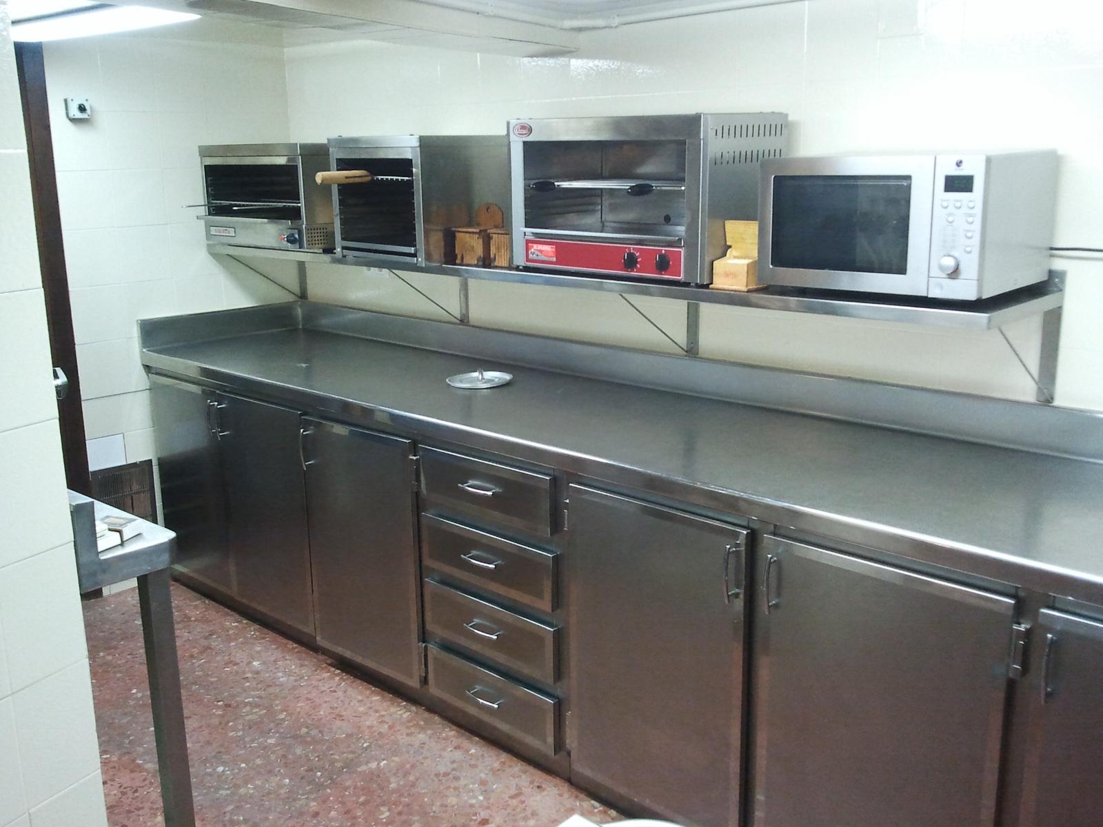 Puertas cocina industrial - Mobiliario cocina industrial ...