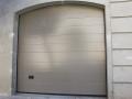 puerta seccional plata lisa